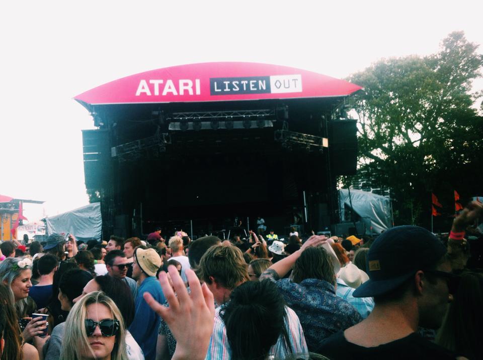 Listen Out 2014 Melbourne