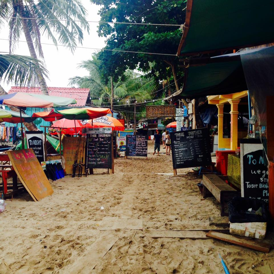 Backpacking in Koh Rong, Cambodia