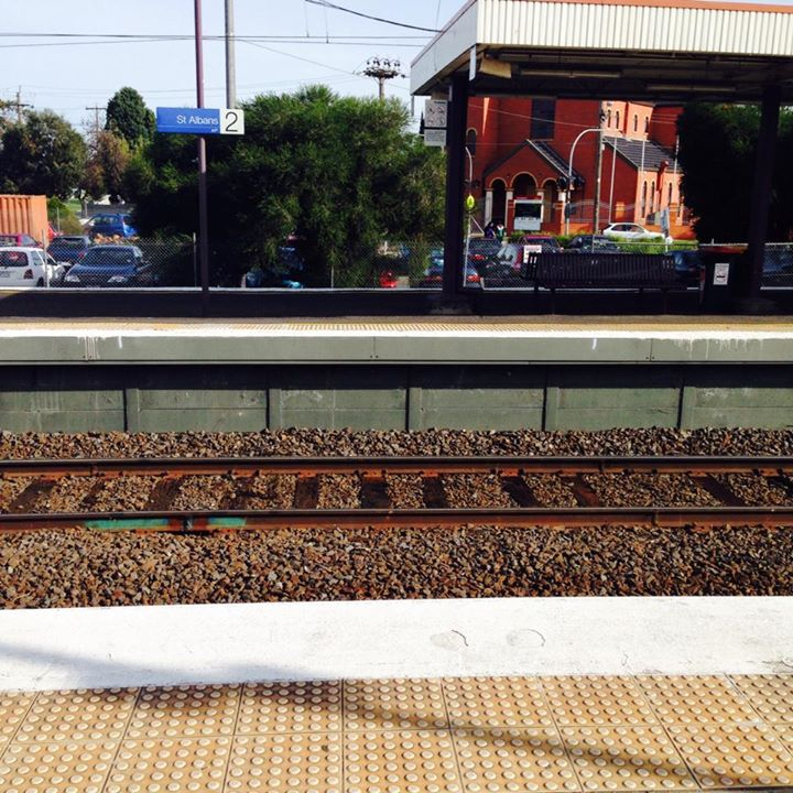 Train Station Melbourne