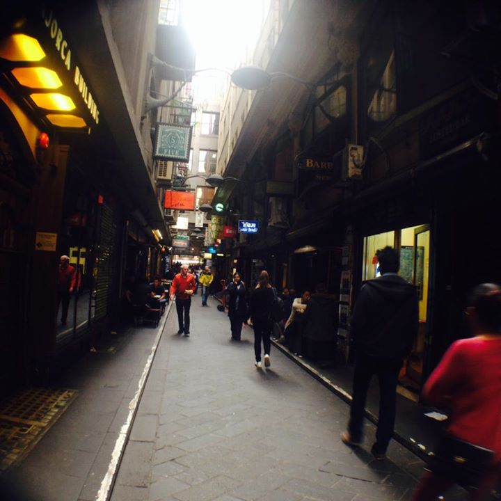 Laneways in Melbourne