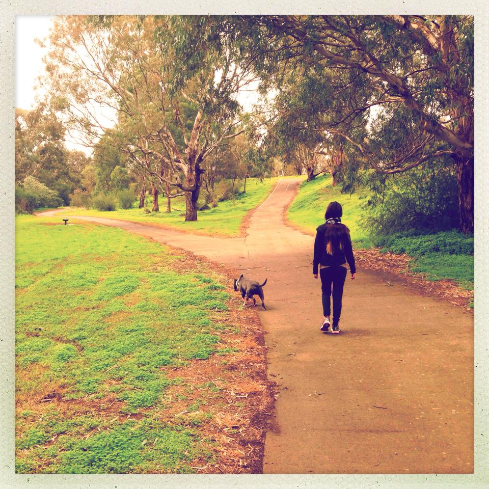 Jogging in Melbourne
