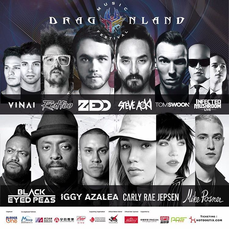 Dragonland Music Festival in Hong Kong