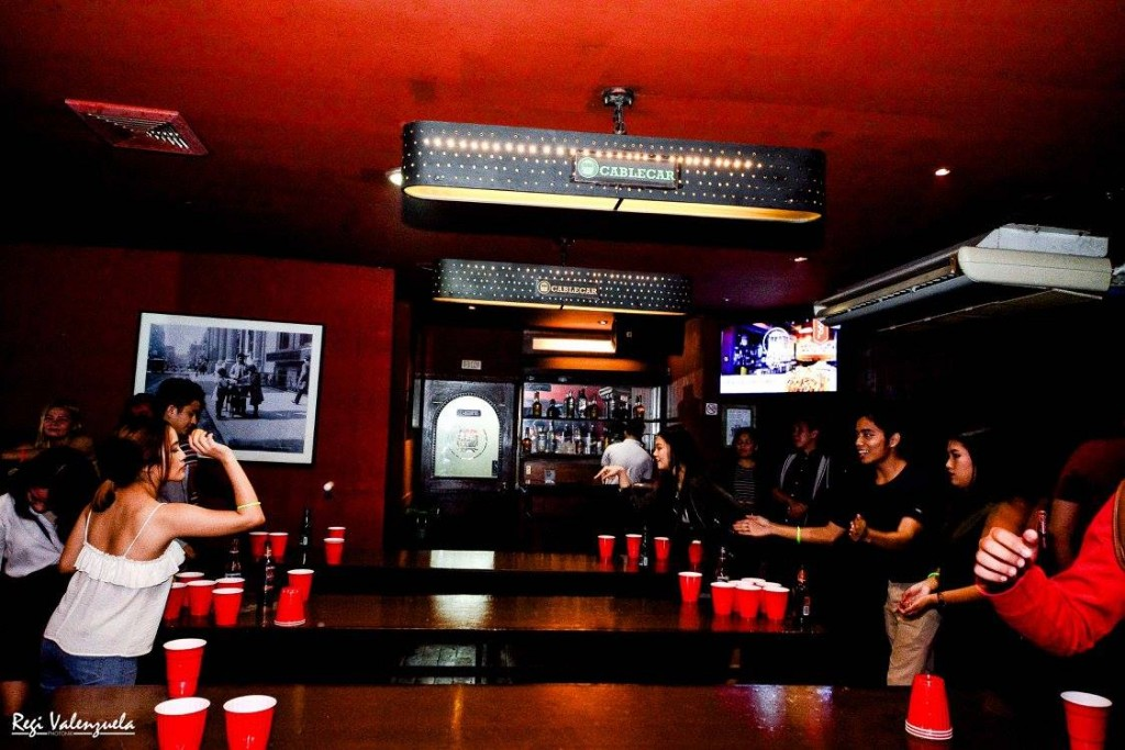 Cable Car Beer Pong