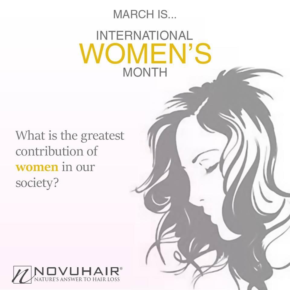 International Women's Month Novuhair
