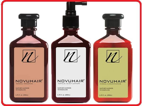Novuhair Organic Hair Loss Shampoo