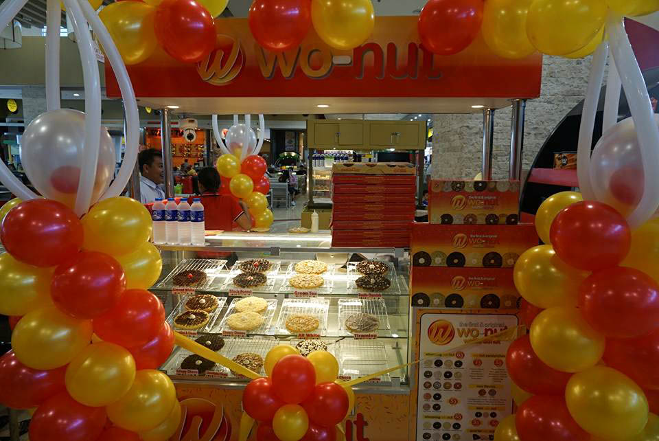 Wo-Nut Grand Opening SM Taytay