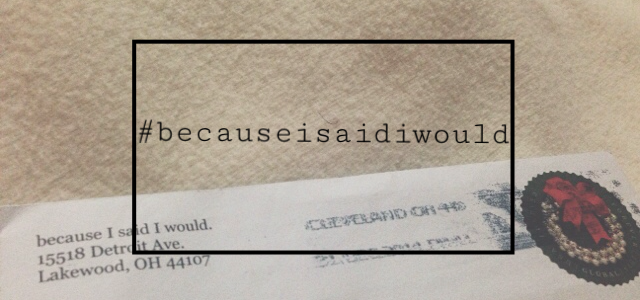 #becauseisaidiwould