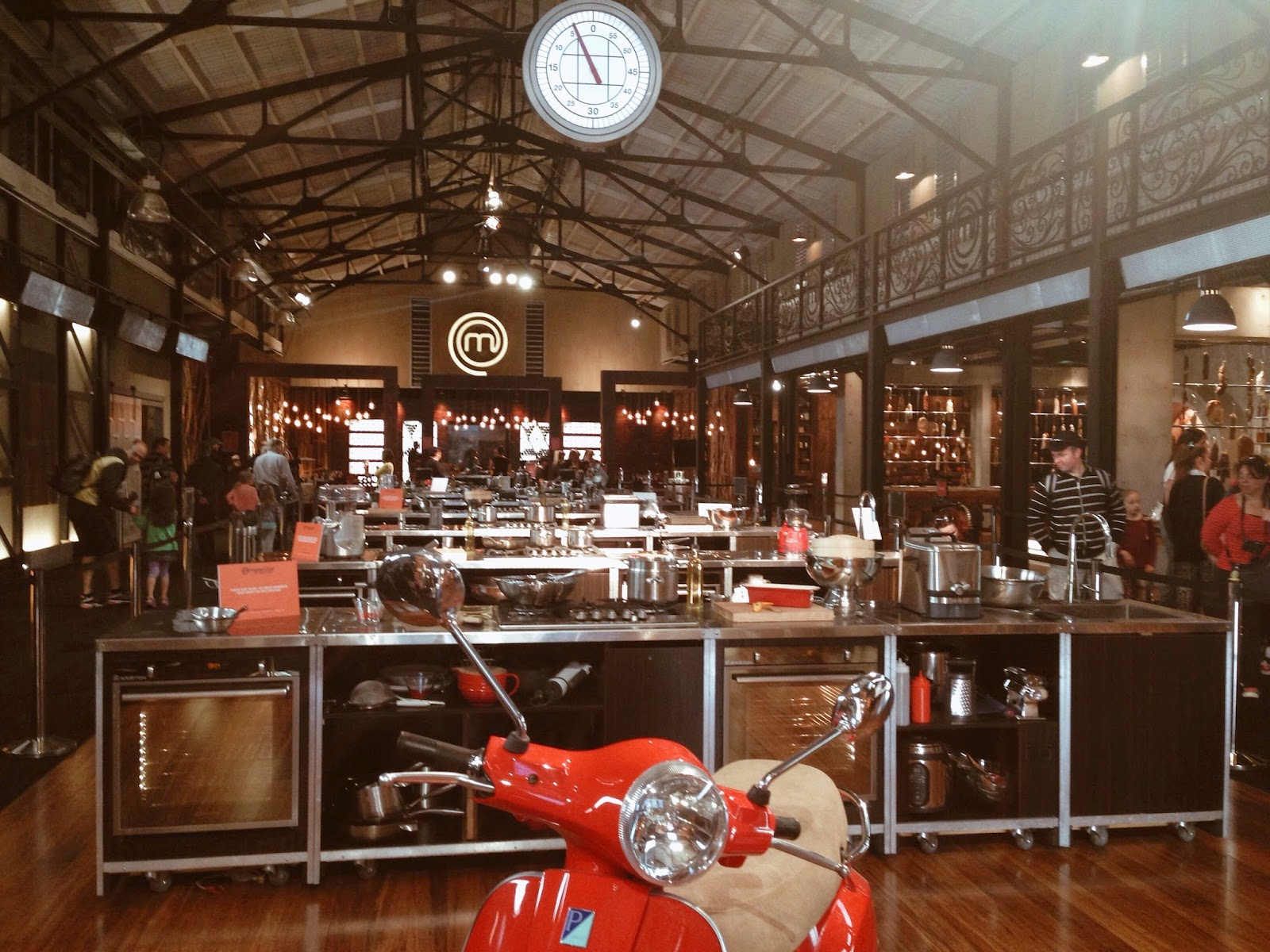 Masterchef Kitchen Set Location