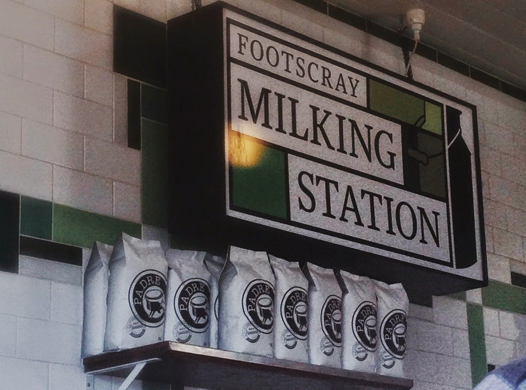 Breakfast at The Milking Station