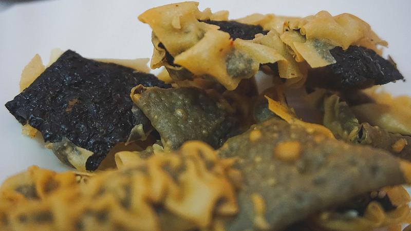 Crispy Seaweed Crackers Faru's Sea-Charon