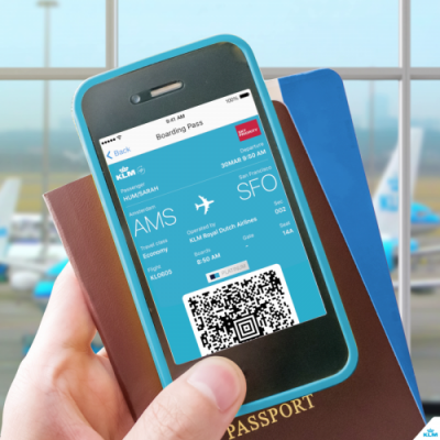 Get your KLM flight status updates on Twitter and WeChat