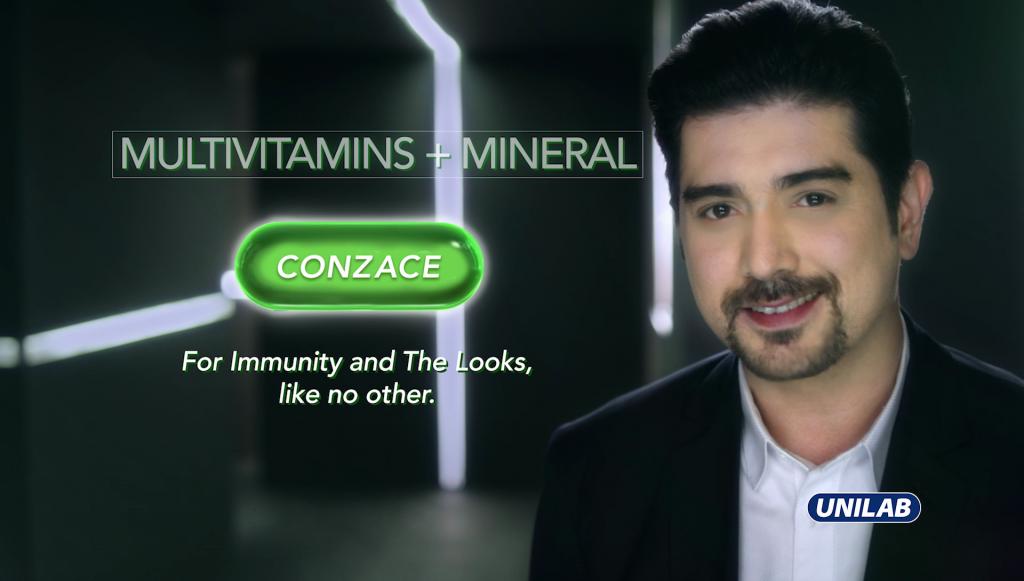 Ian Veneracion brand ambassador of Conzace