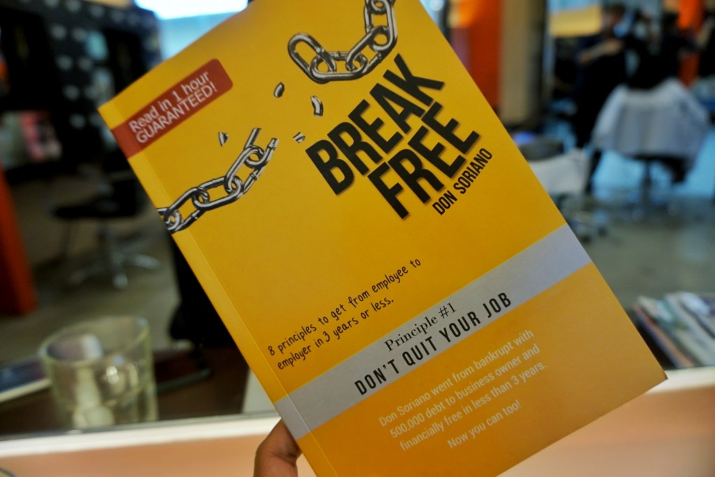 Don Soriano's book Break Free