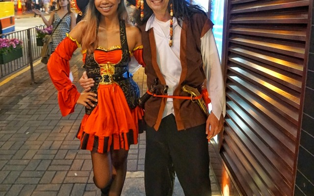 Dressing up in Hong Kong Rugby Sevens