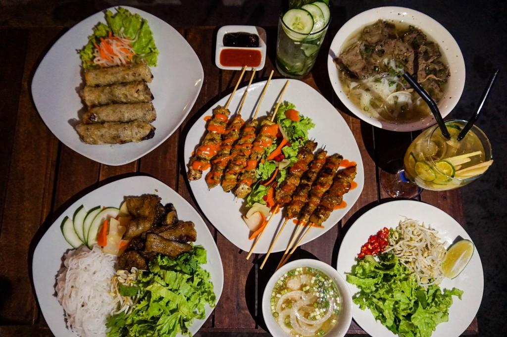 Cu Chi Bar Food