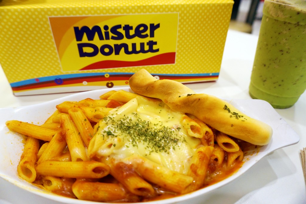 Mister Donut Pasta