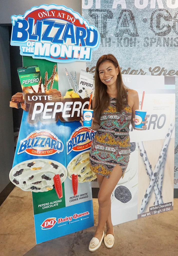 Pepero Blizzard Dairy Queen Philippines