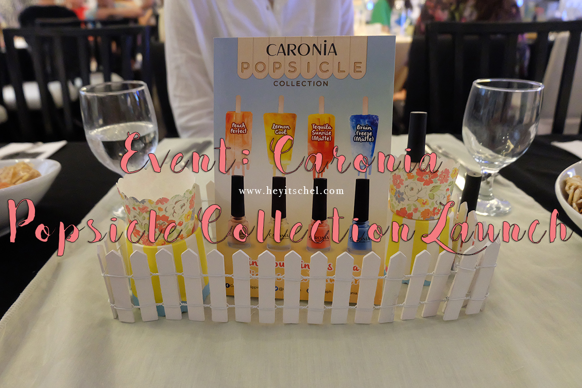 Event: Caronia Popsicle Collection Launch