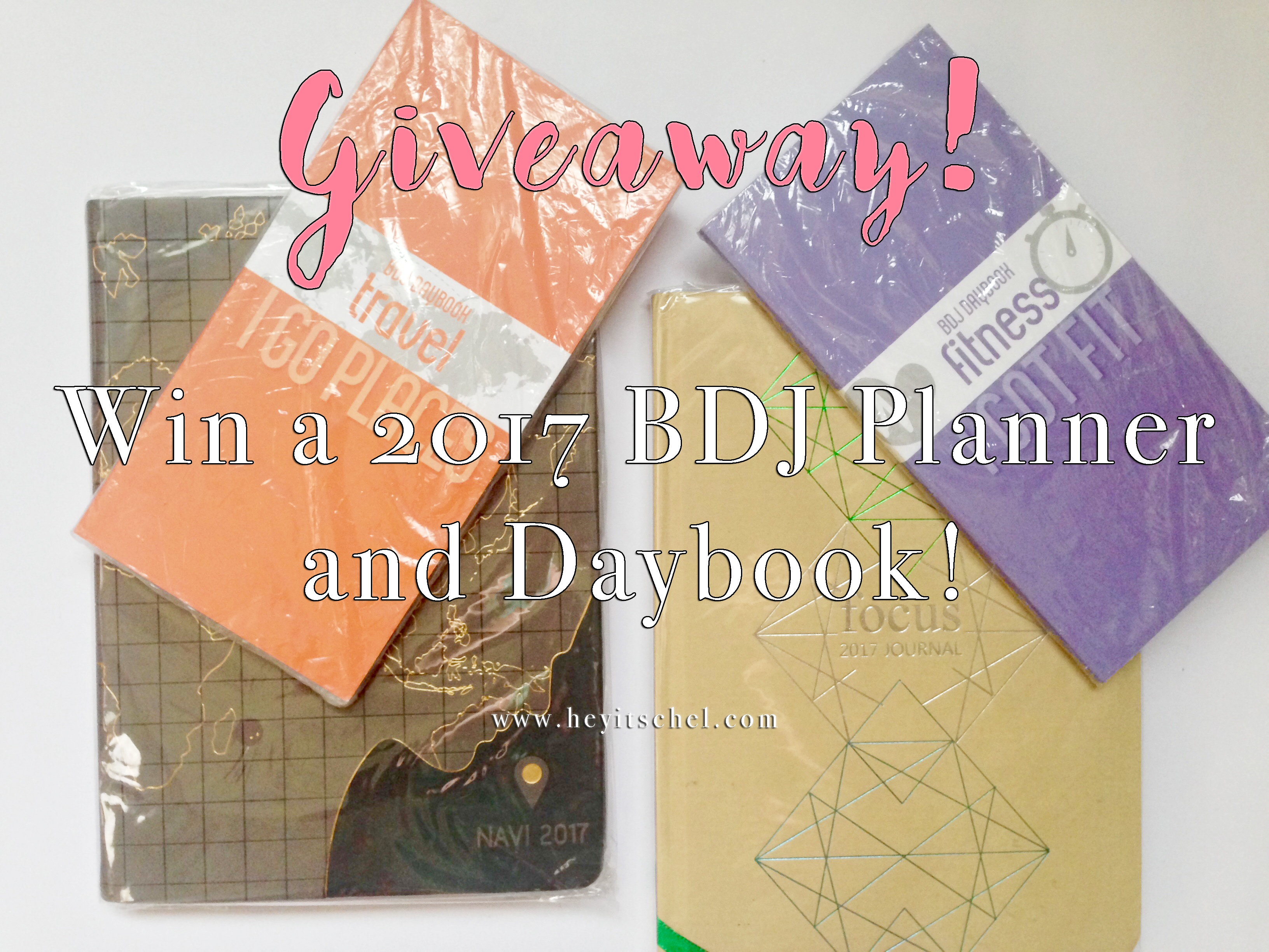 Giveaway: Win a 2017 BDJ Planner and Daybook! (Closed)