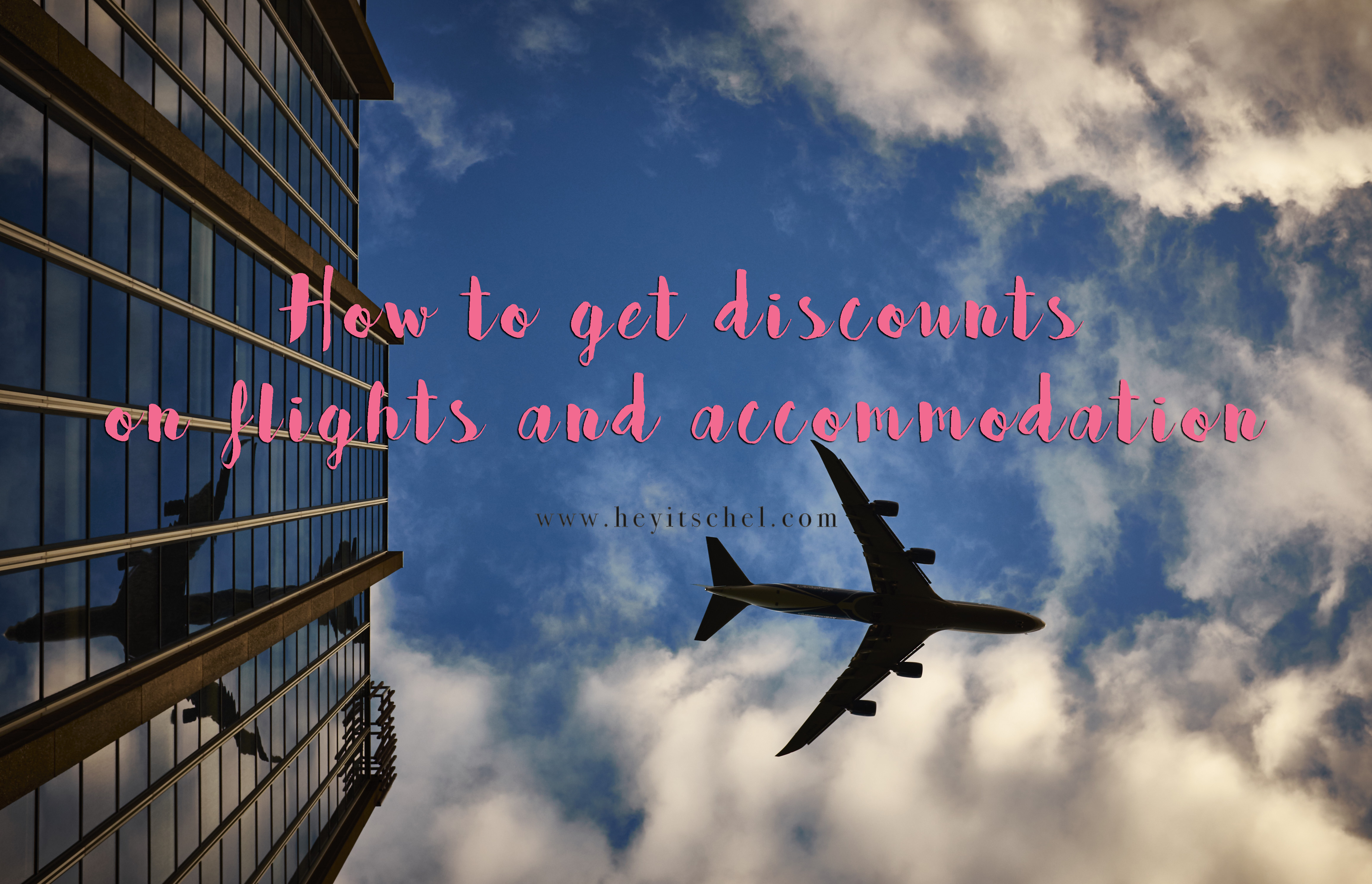 How to get discounts on flights and accommodation