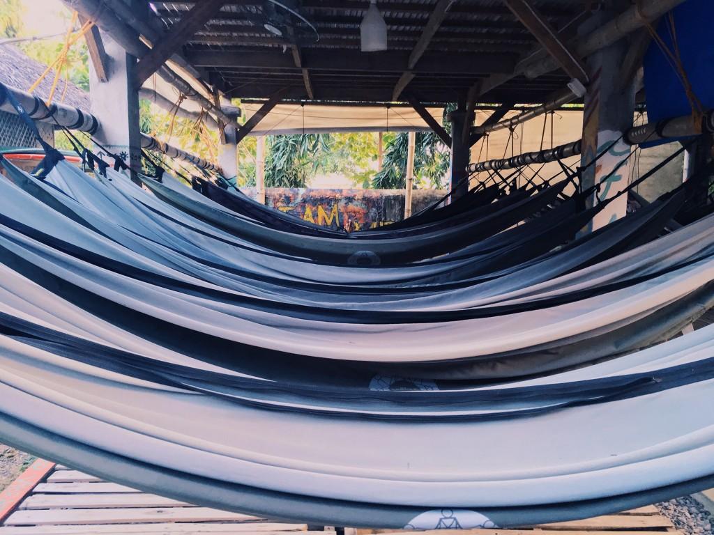 The Circle Hostel hammock