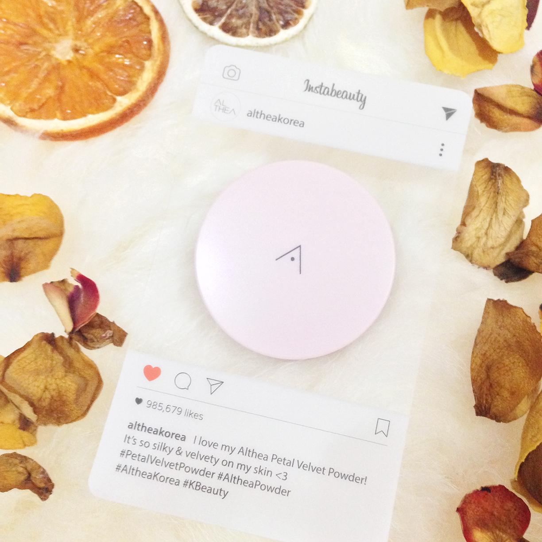ALTHEA Petal Velvet Powder from Korea for Oily Skin