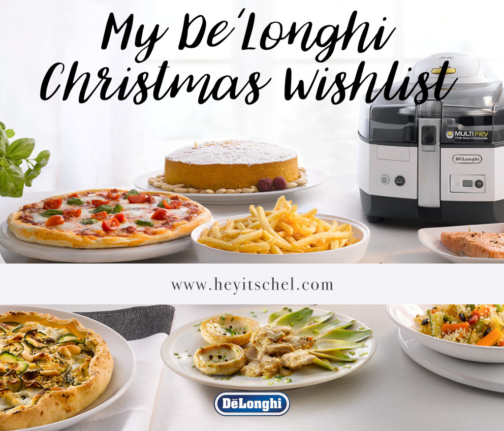 My De'Longhi Christmas Wishlist