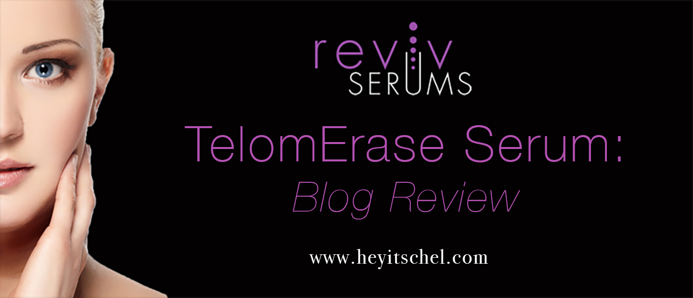 Reviv Serums TelomErase Serum: Blog Review