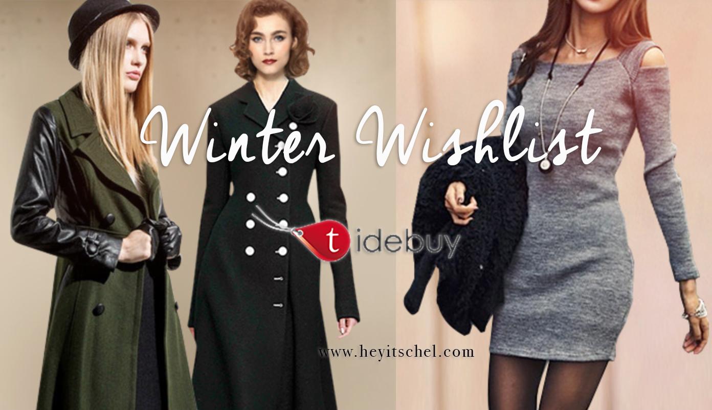 Winter Wishlist Tidebuy