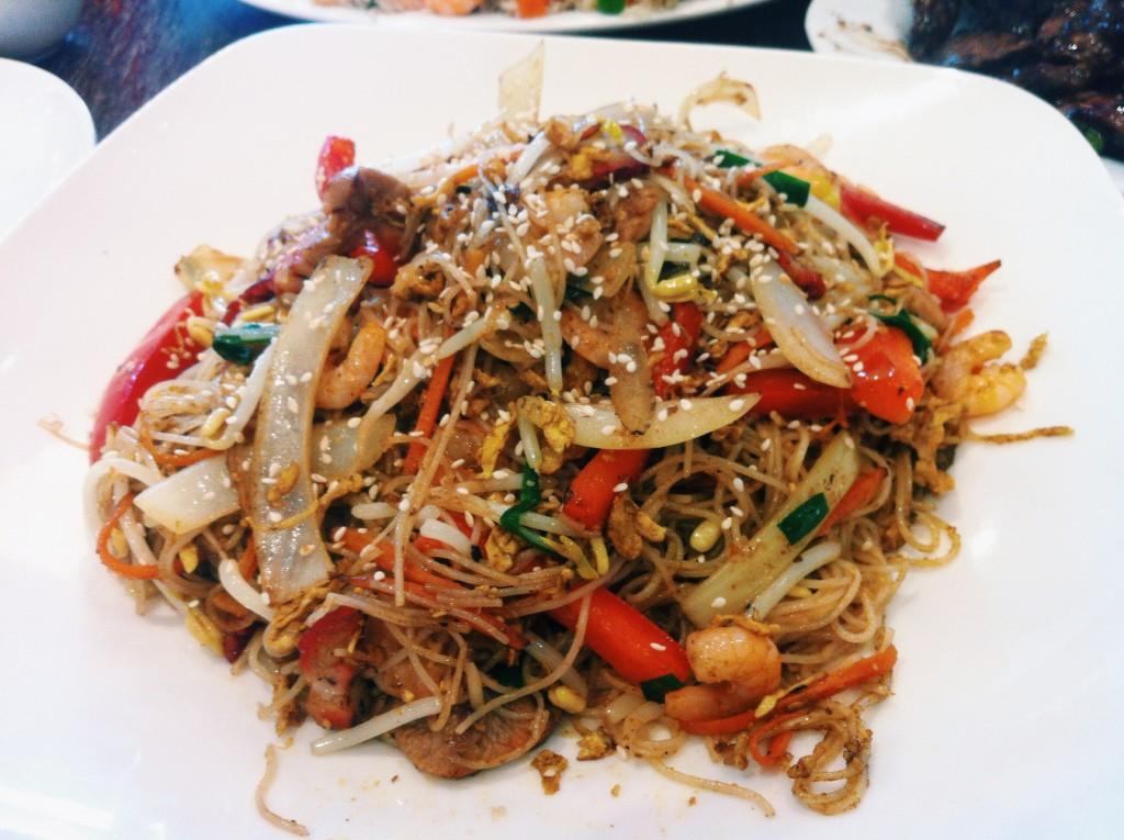 Singaporean Noodles at Quang Vinh
