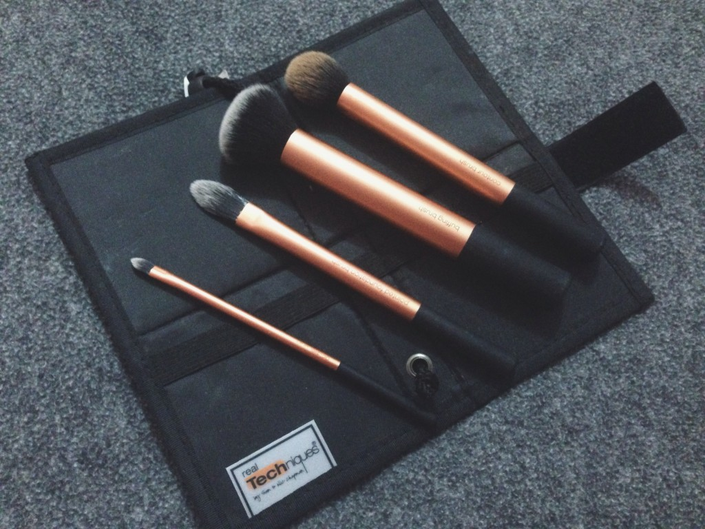 Real Techniques Core Collection Brushes Blog Review