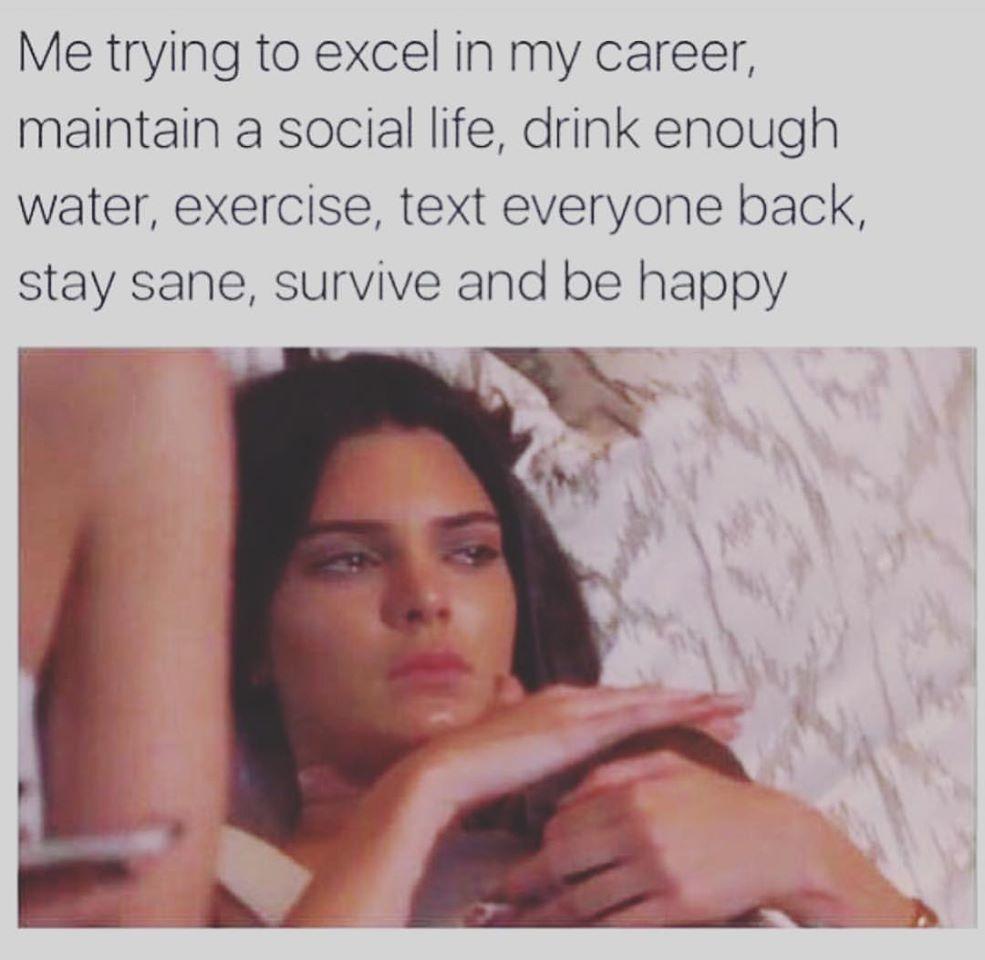 My life meme