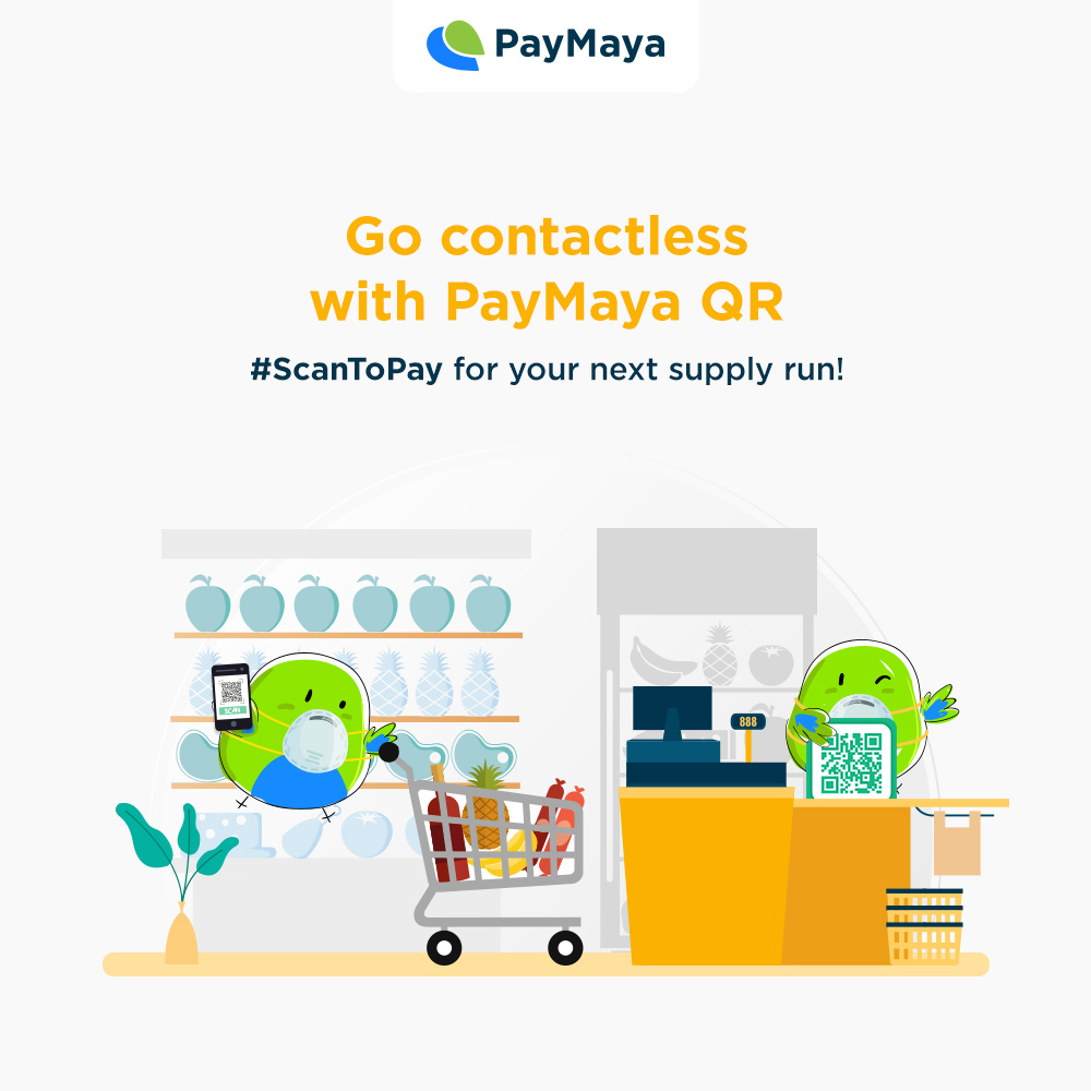 Go contactless with PayMaya QR