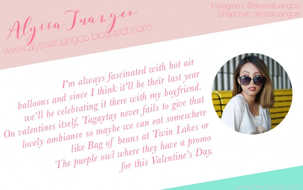 Alyssa Tuangco blog