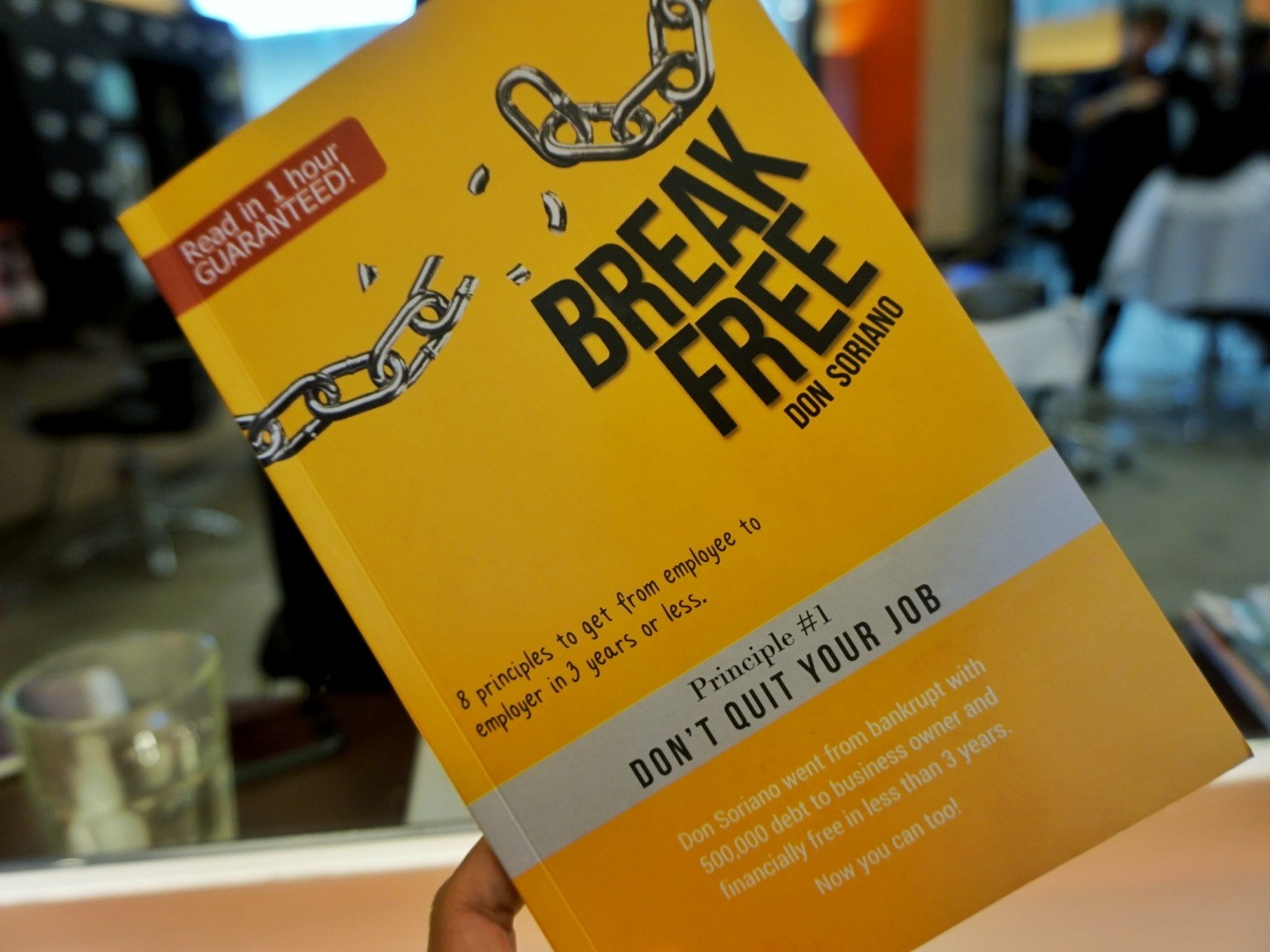 Book Review: Break Free by Don Soriano