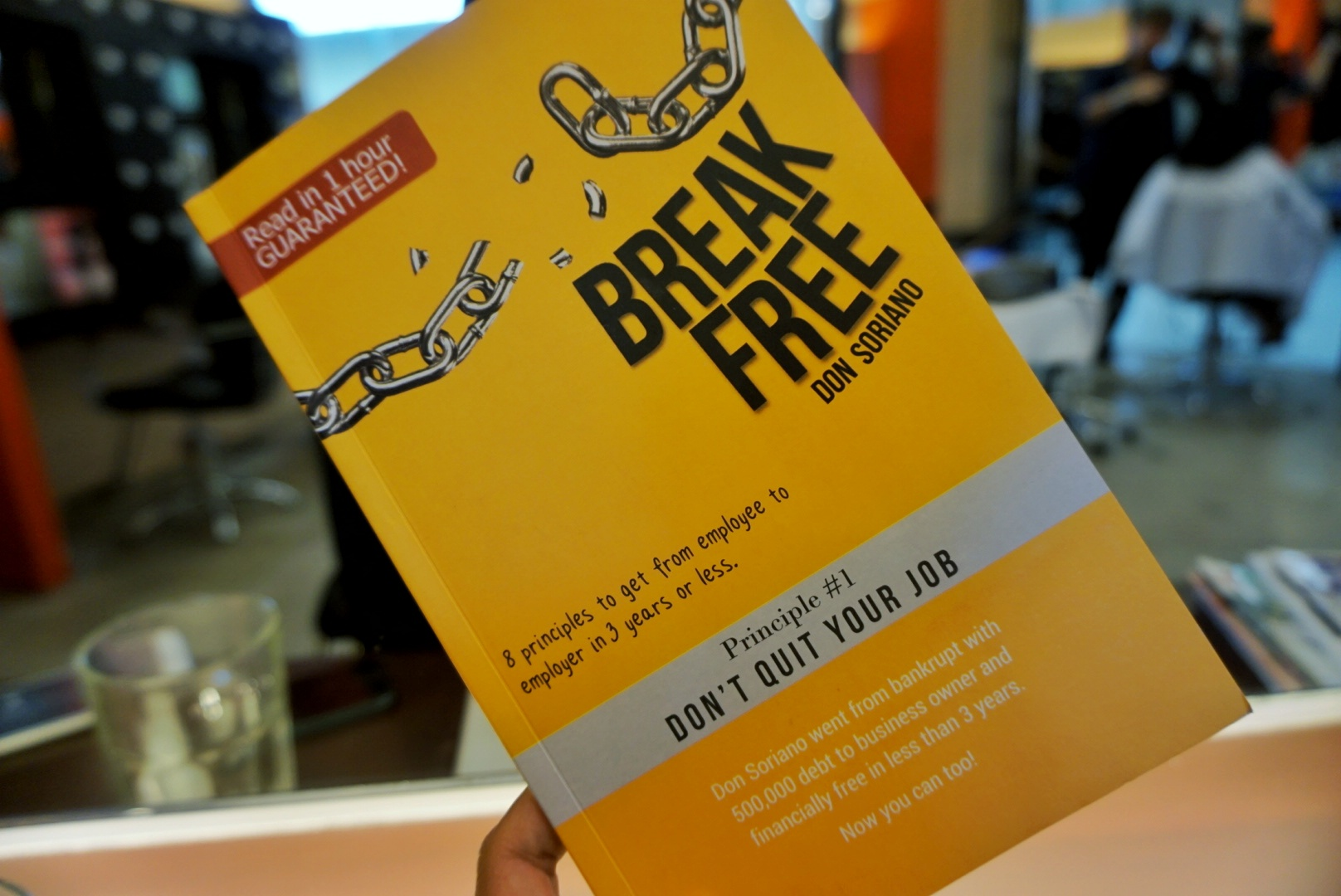 Break Free book by Don Soriano