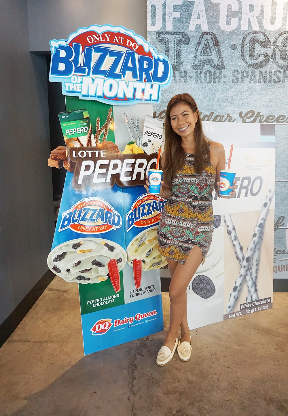 Dairy Queen's Blizzard of the Month: Pepero Blizzard