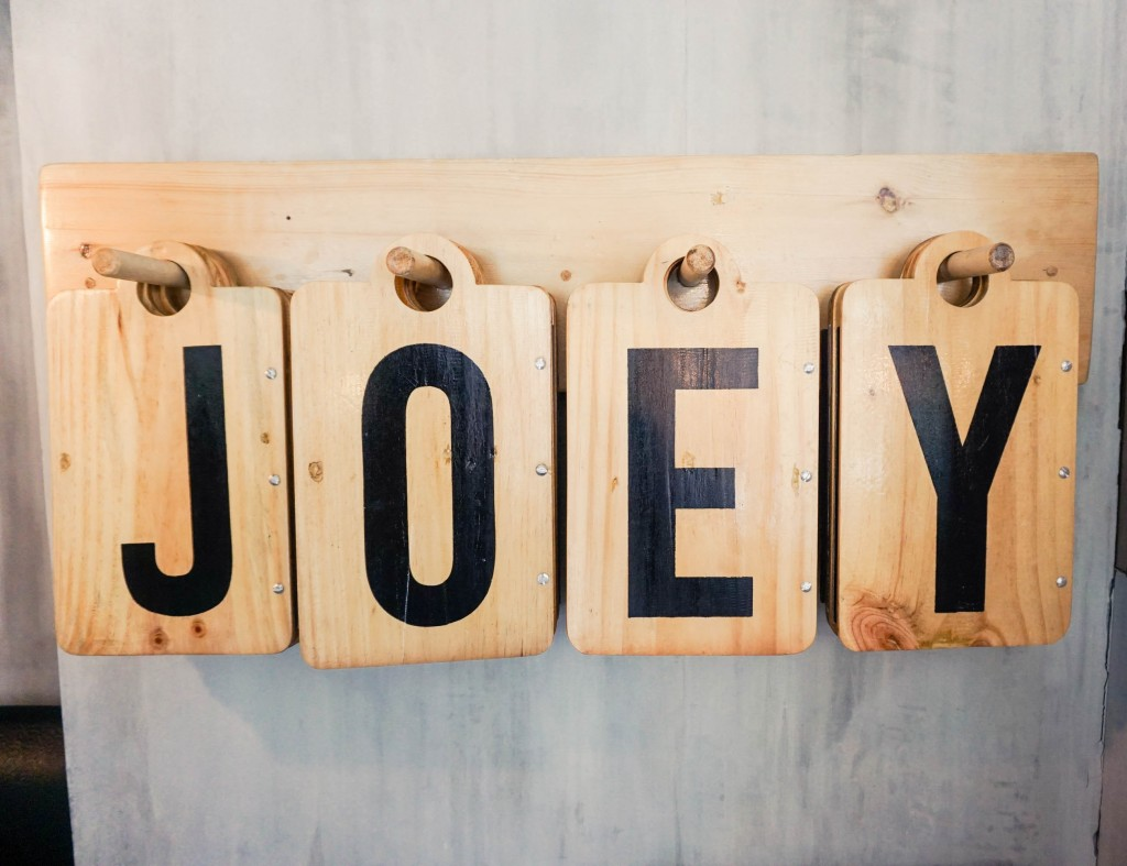 Joey Pepperoni Menu