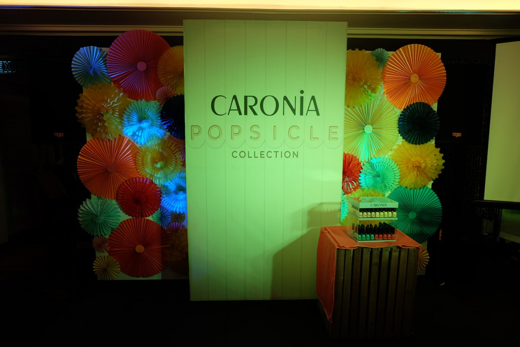 Caronia Popsicle Collection Launch
