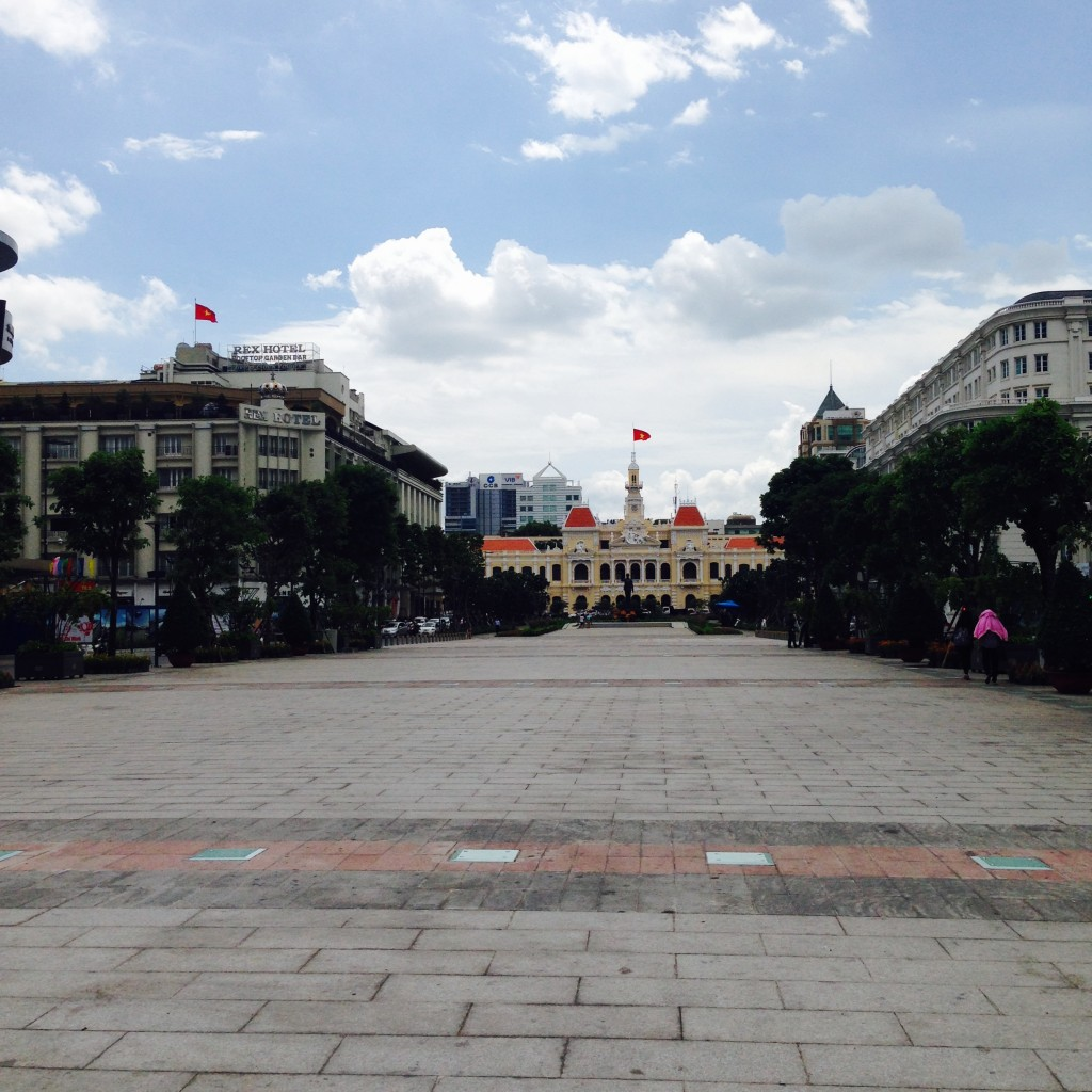 Backpacking in Ho Chi Minh, Vietnam