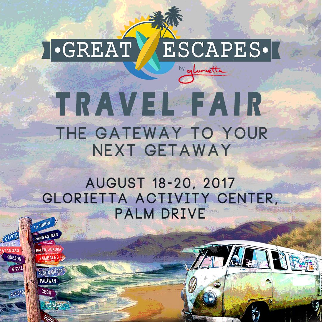 Great Escapes Travel Fair at Glorietta