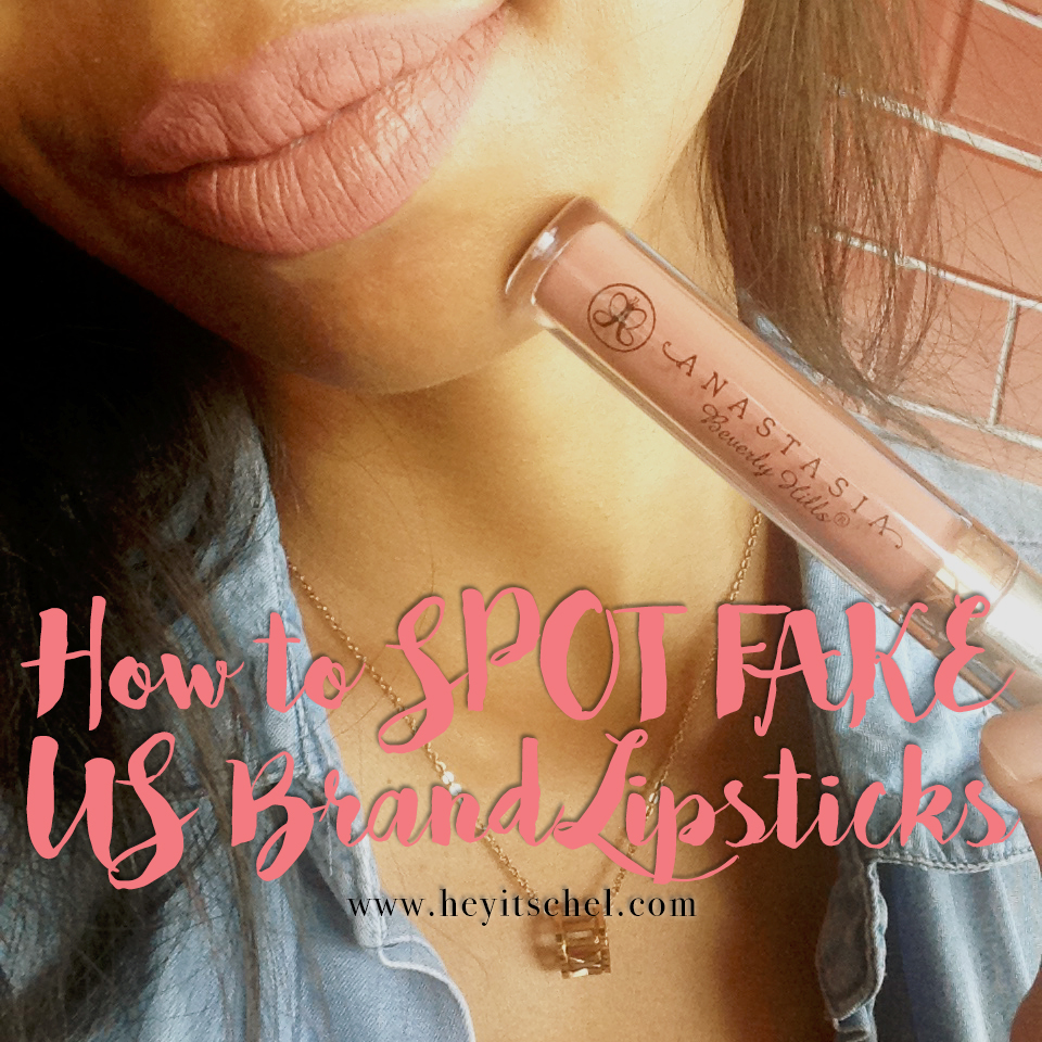 How to SPOT FAKE US Brand Lipsticks