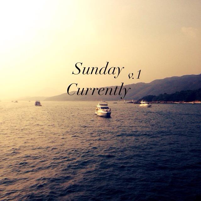 Sunday Currently v.1