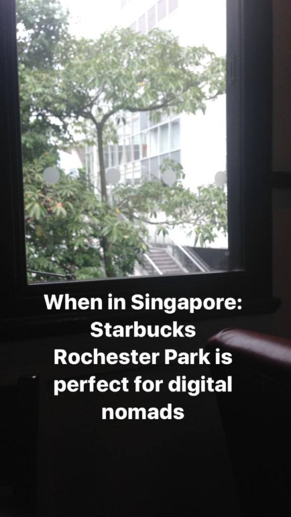 Starbucks Rochester Park Singapore