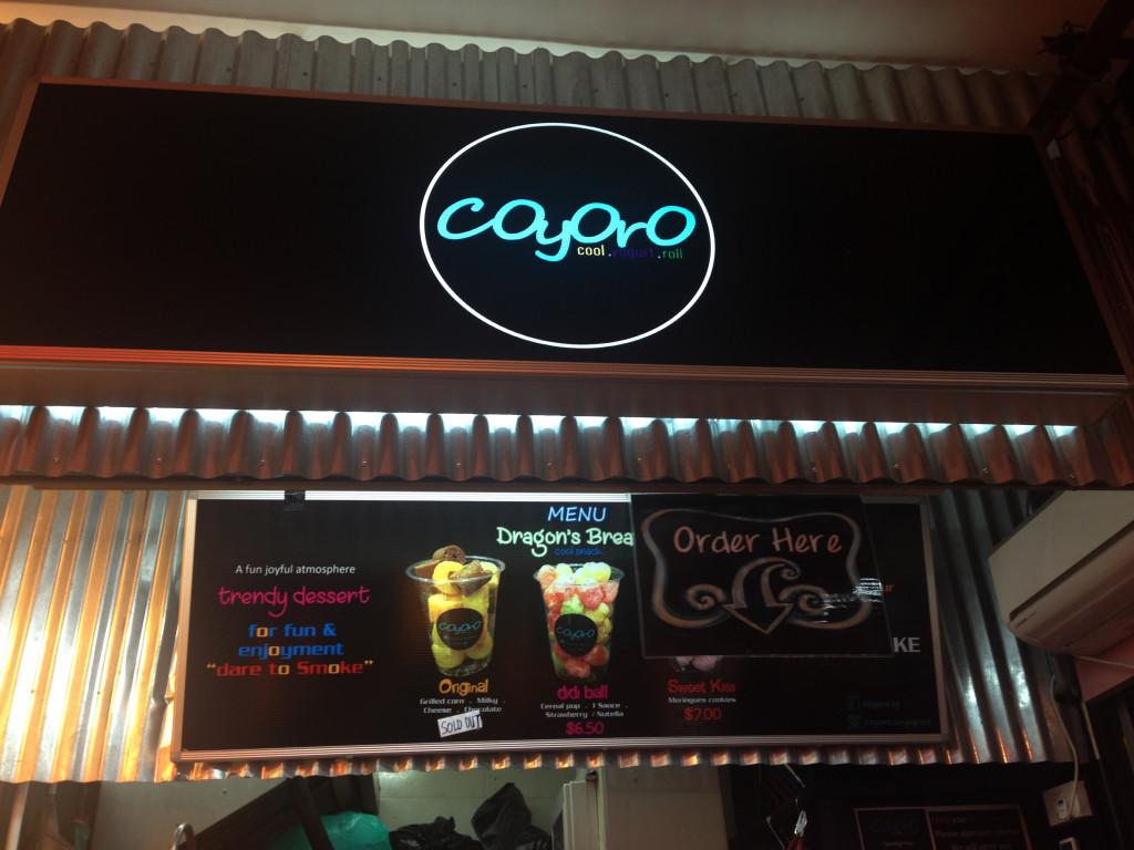 Coyoro Singapore Bugis review