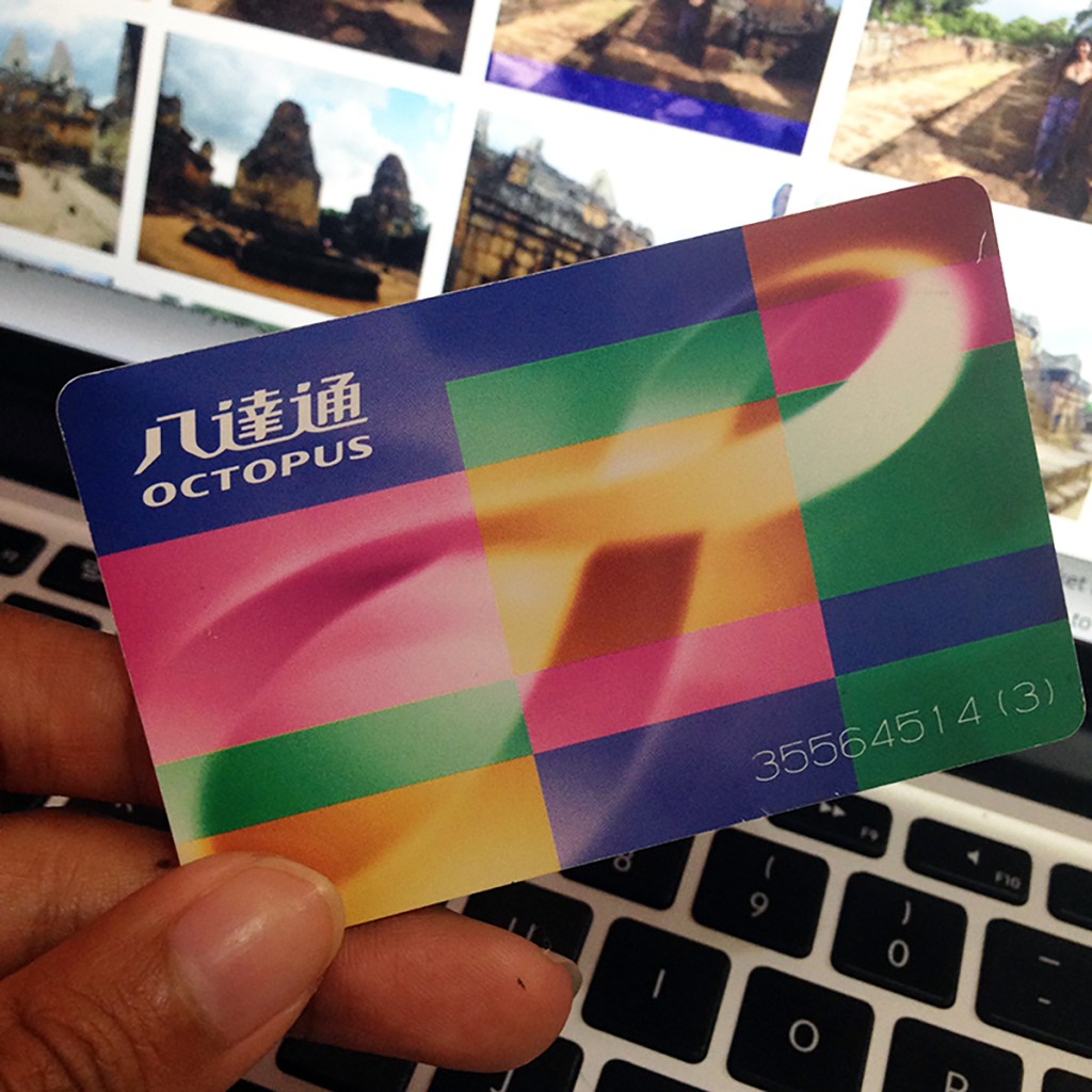 Octopus Card for Hong Kong