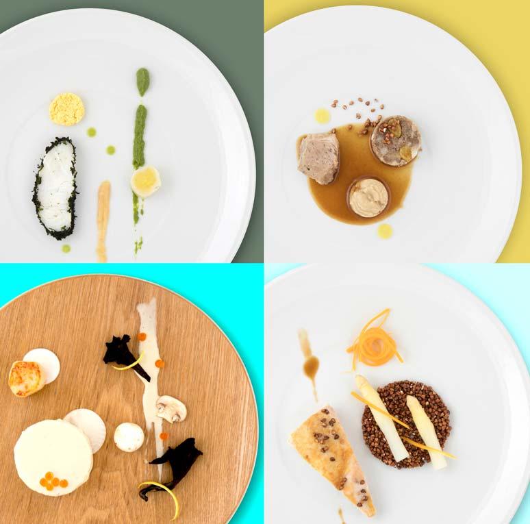 Olivier Bellin's Gourmet Delicacies in KLM Business class