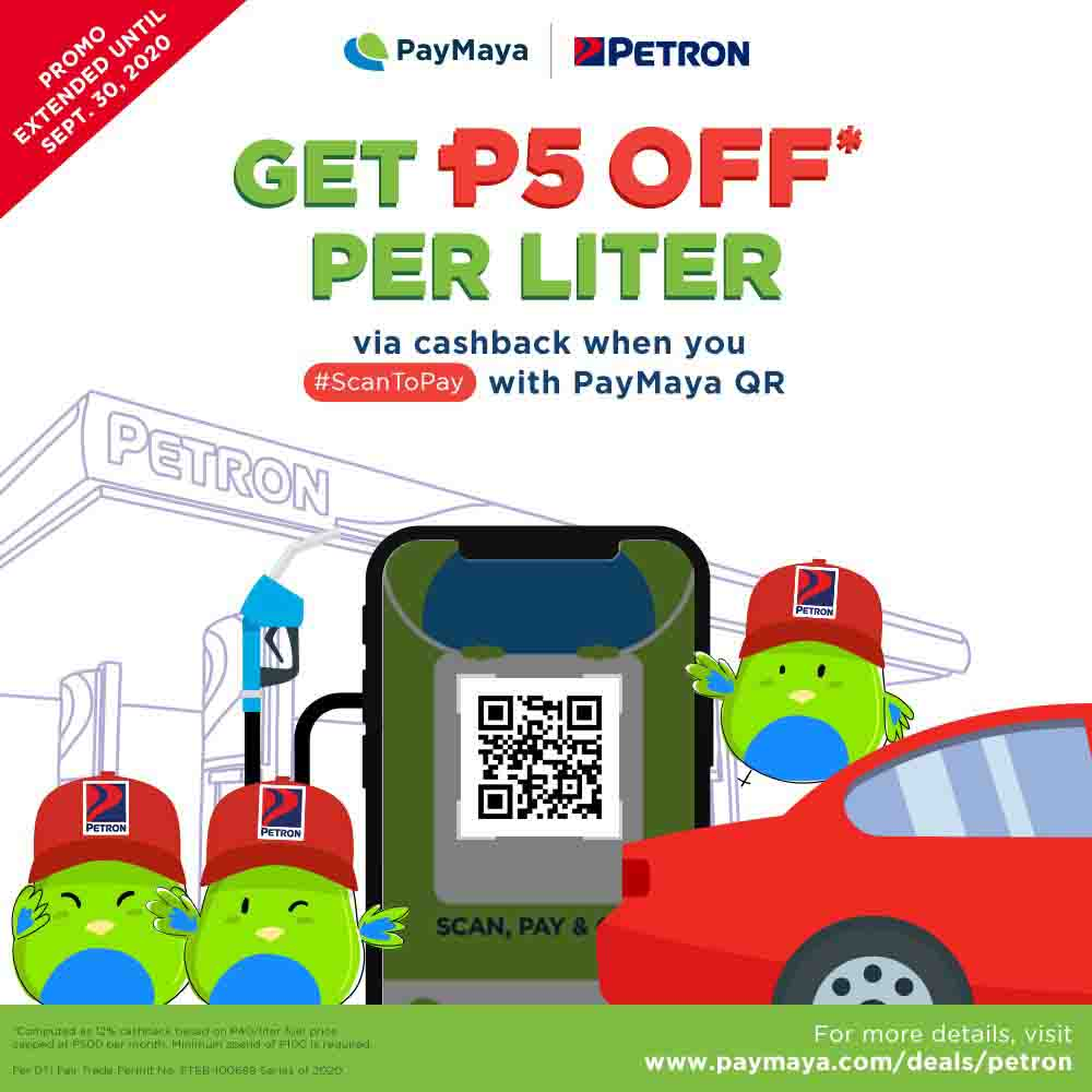 PayMaya fuels a safe and rewarding experience at Petron