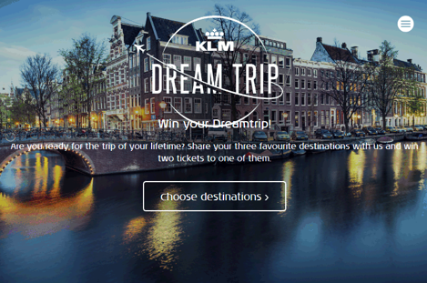 Win your Dream Trip with KLM