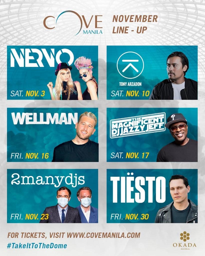 Cove Manila Upcoming Events